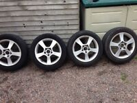 """16"""" Seat Altea Alloys, fits other VAG Cars."""