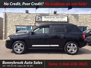 2010 Jeep Compass Limited 4x4 w leather navi p sunroof