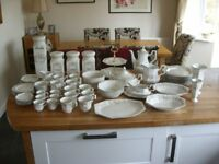 Eternal Beau 63 piece dinner/ tea/storage collection.