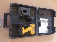 DeWalt drill driver , charger and carry case