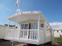 Cheap new static caravan for sale isle of wight, 12 month park with sea views, IOW decking included