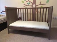 IKEA cot and mattress for sale - £50 for both (£150 new). Collection only, SW4