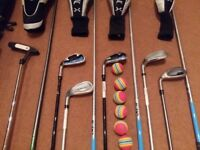 Junior Golf Club Set - LEFT HANDED