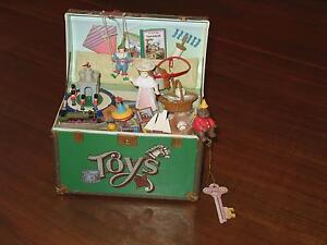 Enesco Toy Symphony Musical Treasure Chest Of Toys - Music Box