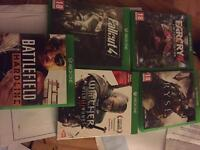 5x Xbox one games excellent condition