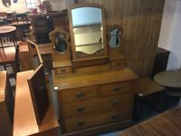 ORNATE DRESSER/CHEST OF DRAWERS (DELIVERY AVAILABLE)