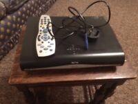 Sky receiver and remote control