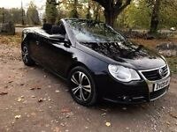 2009 VW EOS 2.0TDI CR SE,6 SPEED MANUAL,CONVERTIBLE,1 FORMER KEEPER,MOT MAY 2017TH