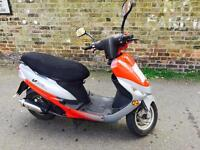 Peugeot vclic 50 cheap travelling ride on a car licence or provisional