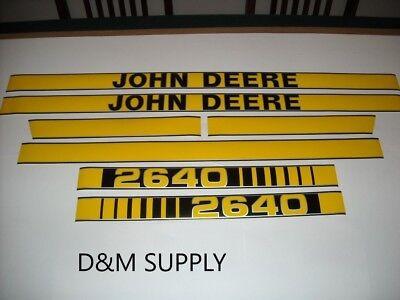 John Deere 2640 Tractor Decal Set