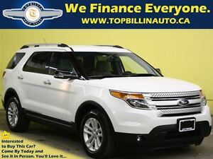 2013 Ford Explorer XLT with Back-up Cam, Power Tailgate