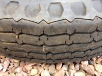 6.50 x 16 crossply tyre