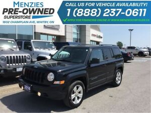 2014 Jeep Patriot North Cruise, Alloys, ONE OWNER, Clean Carproo
