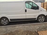 245/45/18 alloys with tyres for Renault trafic,Vauxhall vivaro,Nissan