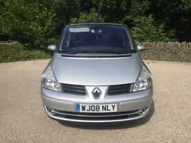 Renault Grand Espace Dynamique s dci turbo diesel 2.0cc 6 speed 150bhp 5 door mpv 7 seater 08/2008 1