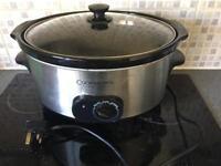 Cookworks signature deluxe slow cooker