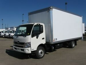 2017 Hino 195-185, 20ft Van Body, GPS, 2500lbs. Lift Gate