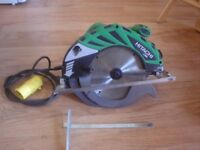 Hitachi C9U2 - 235mm ( approx 9.25 inch) 110V Circular saw with carry case.