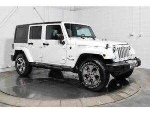 2017 Jeep WRANGLER UNLIMITED UNLIMITED SAHARA 4X4 MAGS BLUETOOTH