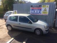 breaking for spares renault clio 1.2 2003
