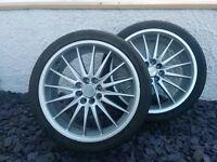 "100+ Wheels /Tyres 17"" Dia x 7"" width. 205/40 R17 - 4x100 & 4x104.3 PCD. Ford, Vaux/VW/Honda/Toyota"