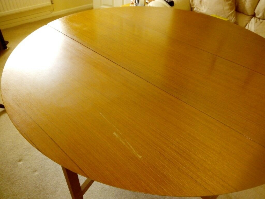 Second Hand Dining Table No Chairs Folds Down To Save E