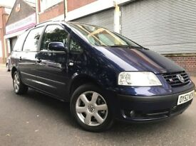 Volkswagen Sharan 2003 2.8 V6 Carat 4Motion 5 door 7 SEATER, 4WD, 6 SPEED GEARBOX, BARGAIN