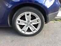 AUDI A3,A4,A5,A6 VW GOLF ALLOYS 17 INCH ,SELL OR SWAP