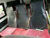 Tripple seat with seatbelts suit vw t4 or any day van