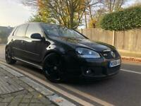 2008 08. VOLKSWAGEN GOLF GTI DSG 5DR 2.0 TFSI. BLACK. LEATHER. CAT D! BARGAIN!