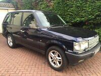 Genuine Range Rover DSE 5 spd Manual Gearbox BMW 2.5 Diesel Engine,New MOT Rare Car First will buy.