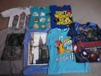 Boys t-shirt bundle 7-8years