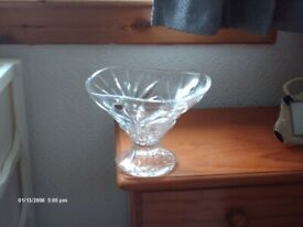 NEW ITALIAN CRYSTAL VASE