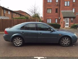 2002 FORD MONDEO GHIA X AUTOMATIC 2.0 DIESEL LOVELY DRIVE WARRANTED MILES FULL LEATHER ALL ELECTRICS