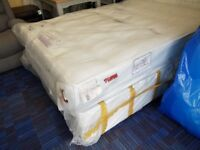 5ft Kingsize Sealy Grand Ortho Mattress + 4 drawer base RRP £449