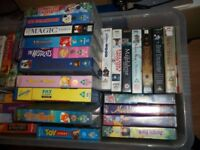 25+ Disney classics plus others, all in excellent condition.