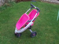 DOLLS QUINNY DOUBLE BUGGY