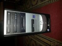 Intel Core 2 Quad Q6600 4GB Ram 1TB HD Asus R7250 1GB Custom PC Desktop