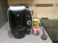 Tassimo coffee capsule machine with xl water tank £25