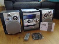 AIWA NSX-R50 TRIPLECD/TWIN TAPE DECK STEREO SYSTEM