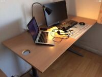 SOLID LARGE Office / Computer desk table