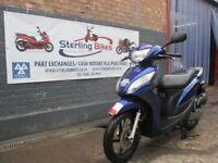 HONDA VISION 110 BLUE 2011 UNBEATABLE PRICE £1300