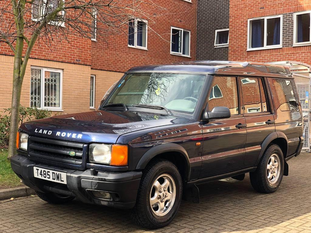 LHD Land rover Discovery 2 TD5 4x4..Tow bar..109k.