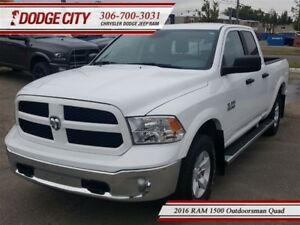 2016 Ram 1500 Outdoorsman | Quad - Remote Start, Backup Cam