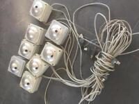 CCTV Cameras complete with connectors