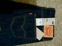 Brand new LEVIS 508, size 34x34