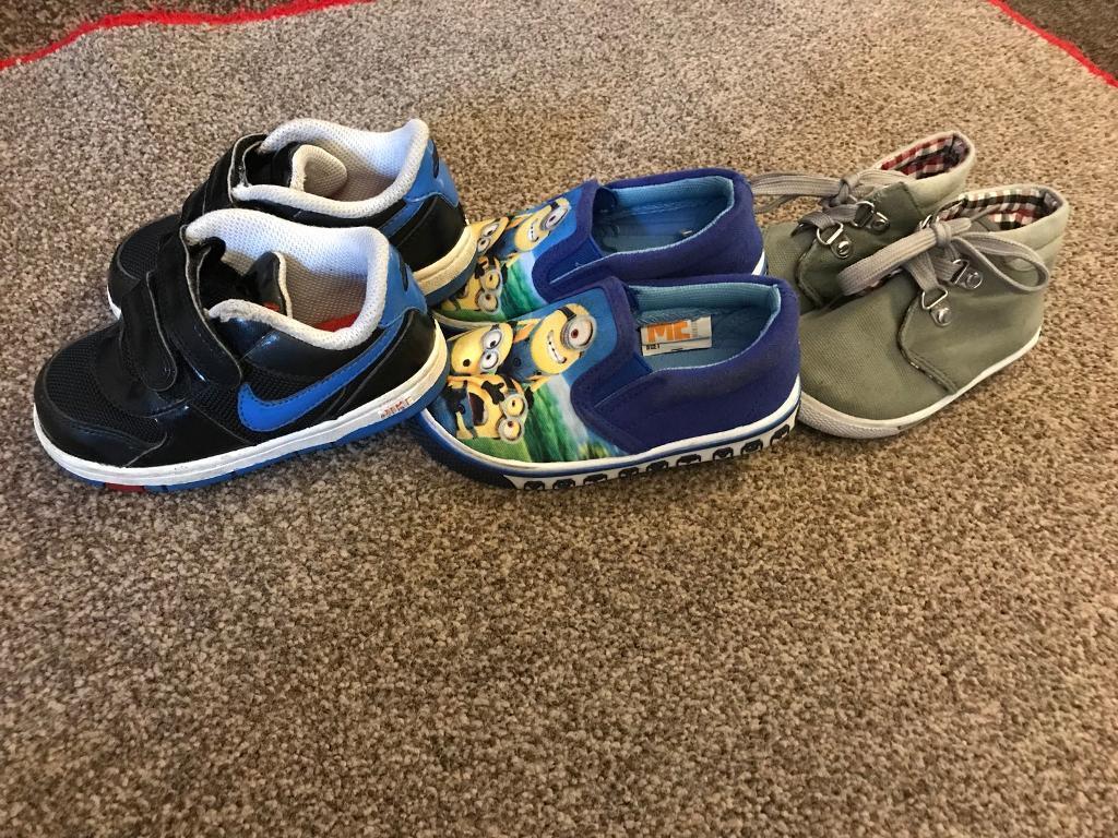 Boys infant size 6 shoe bundle