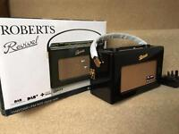 Roberts Revival RD60 DAB Portable Radio ‑ Gloss Piano Black