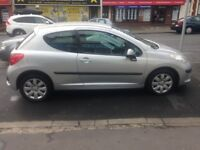 09 PEUGEOT 207 1.4 3 DR 77,000 IDEAL FIRST CAR £1995