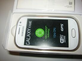 Samsung Galaxy Fame Phone in White